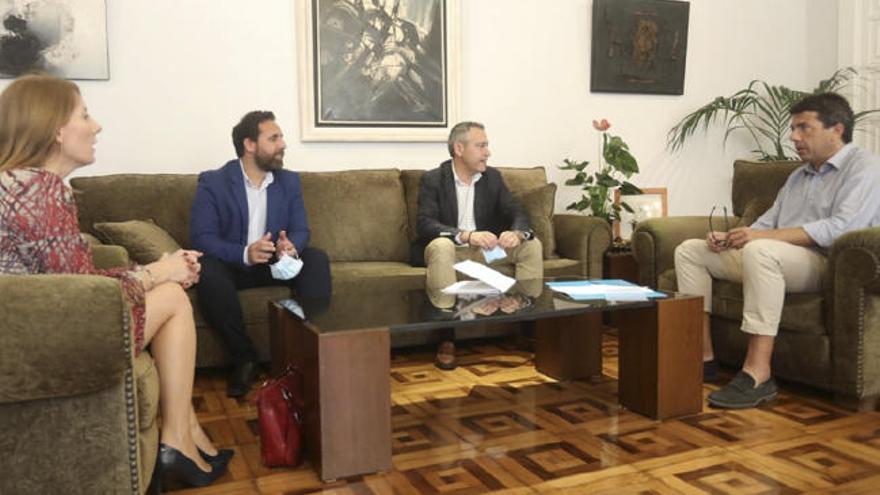 Los polígonos y la Diputación unen esfuerzos para reactivar la economía y reforzar la competitividad empresarial