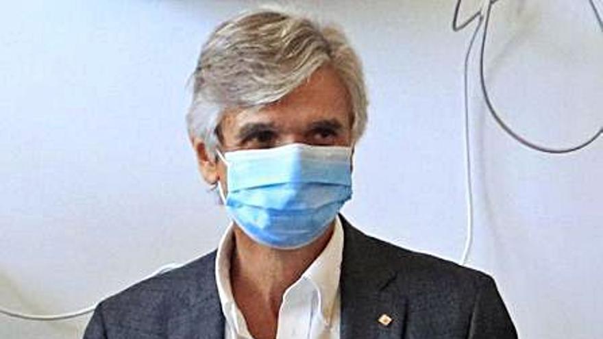 Argimon, partidari que les mascaretes no siguin obligatòries a l'exterior