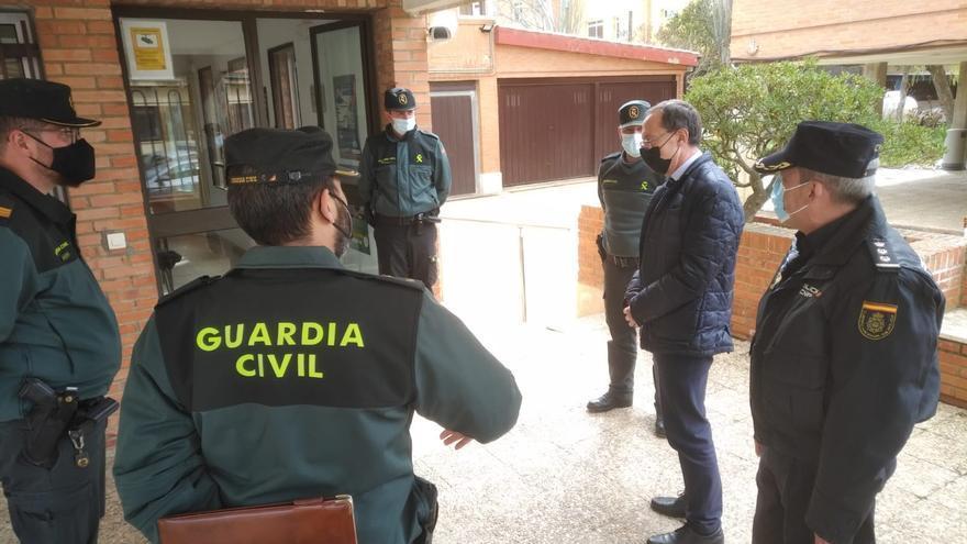 """El trabajo """"invisible"""" de la Guardia Civil de Villalpando que no figura en los registros"""