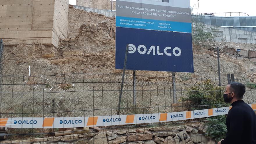 Compromís denuncia la paralización de las obras de rehabilitación de El Portón