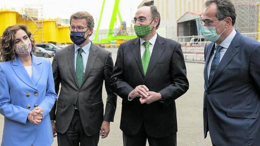 Windar suscribe un acuerdo con Iberdrola que generará mil empleos en Fene (Galicia)