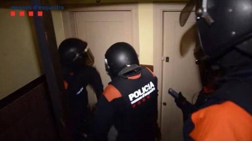 Operatiu contra un grup especialitzat en assaltar cases a les comarques gironines