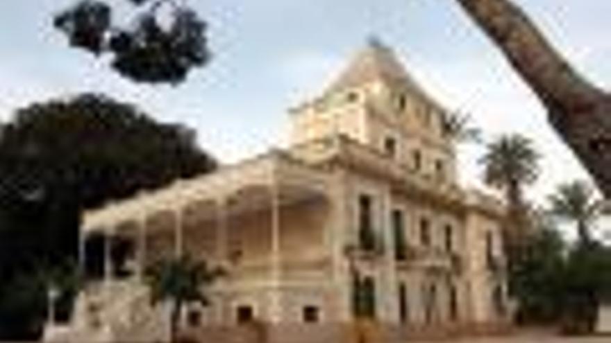 Villa Marco, jardines modernistas