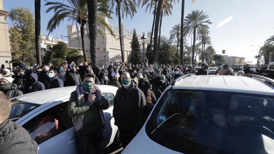 """Restauración CAEB tras la manifestación: """"no ha hecho más que empezar"""""""