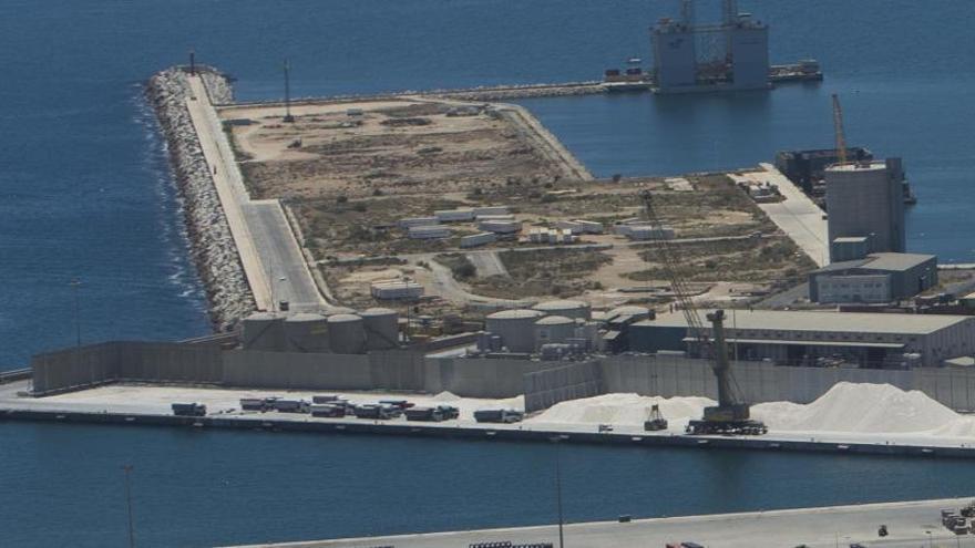 El Ayuntamiento de Alicante paraliza los trámites de los macrodepósitos en el puerto