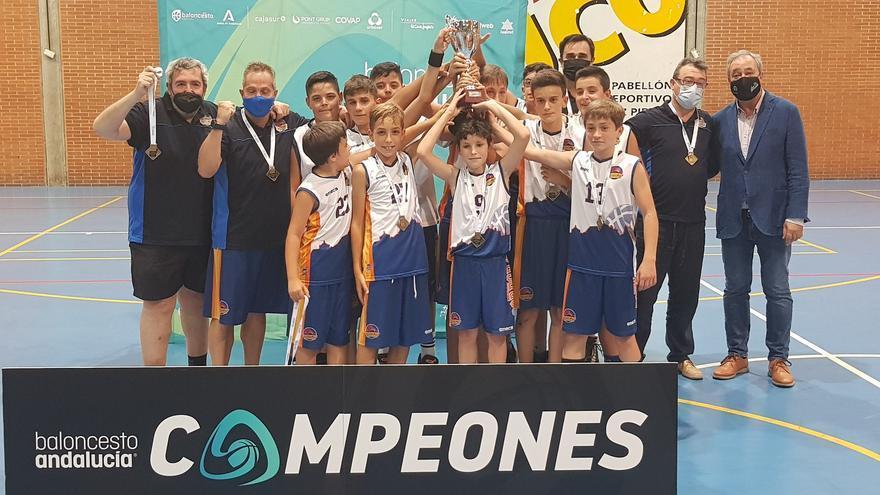 El Ciudad de Córdoba logra la corona provincial mini de baloncesto
