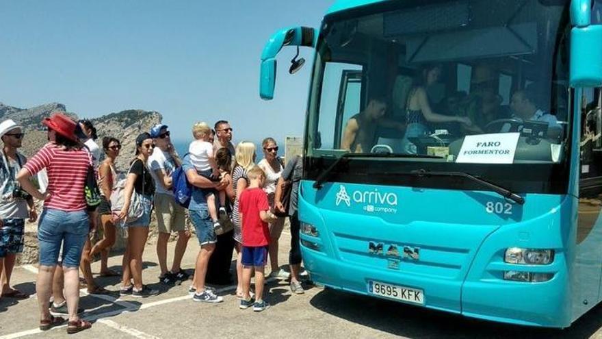 Formentor-Halbinsel seit Dienstag nur noch mit dem Bus zu erreichen