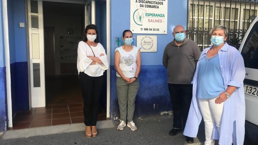La Diputación Provincial aporta 10.000 euros a beneficio de Esperanza Salnés