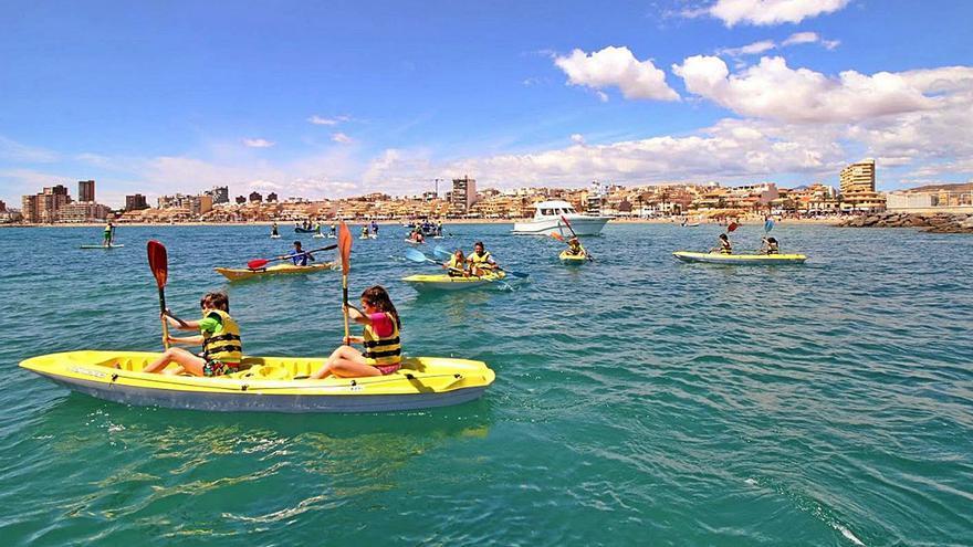 El Campello impulsa en su litoral la creación de un clúster de turismo deportivo