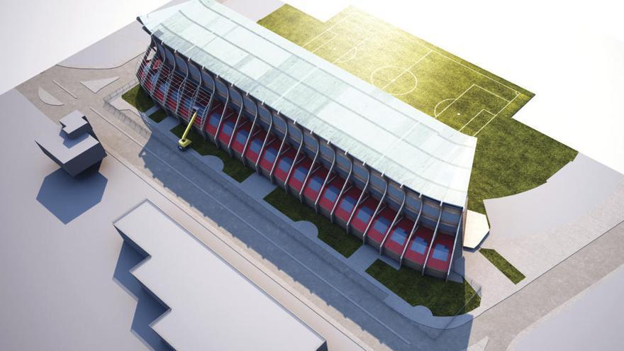 La cubierta de Río estará lista en octubre y la reforma de la grada, concluida en febrero