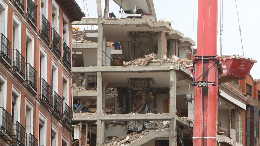 Las incógnitas de la explosión en Madrid, una semana después