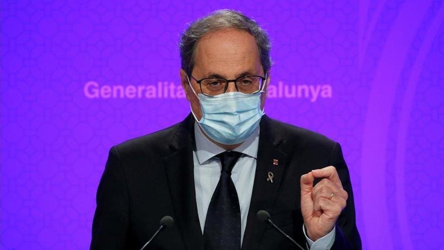Torra confirma que no acudirá a la conferencia de presidentes en La Rioja