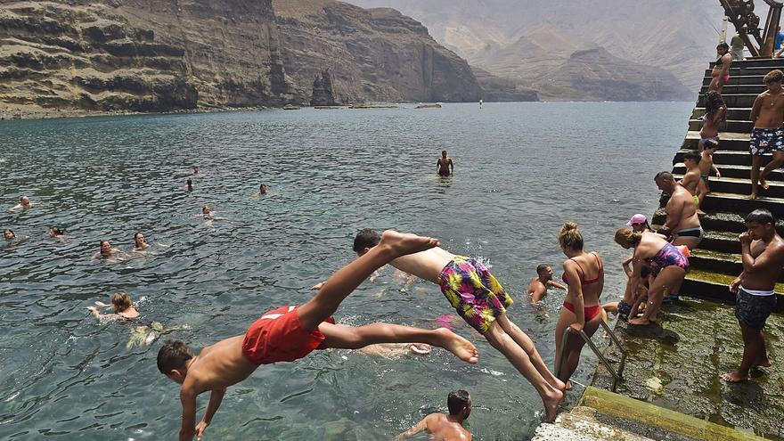 Alerta máxima en Gran Canaria tras superarse los 43 grados en Tasarte