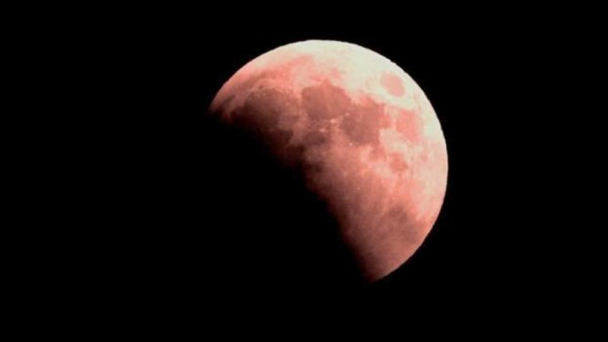 Hora y dónde ver el eclipse de 'luna de fresa'