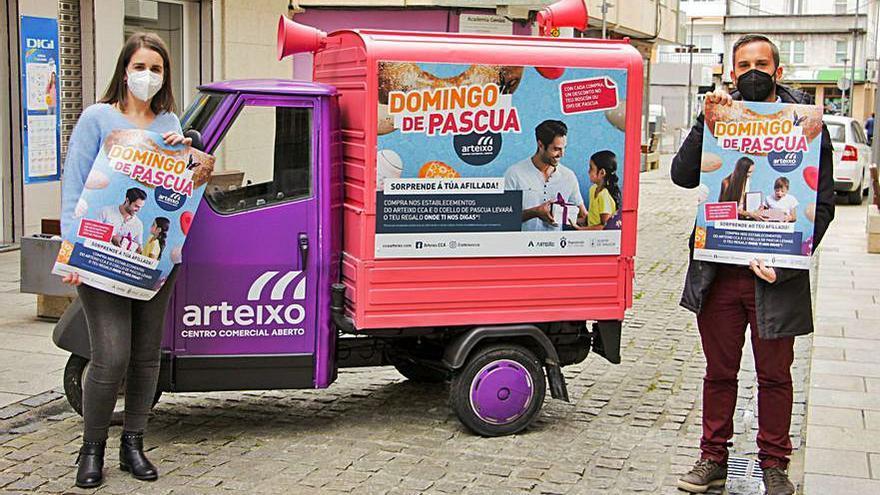 Nueva campaña de los comerciantes de Arteixo