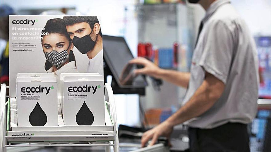 Spar Gran Canaria, primera cadena de supermercados con mascarillas Ecodry en Canarias