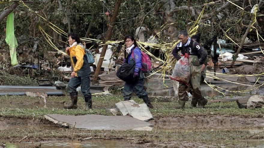 Se elevan a 68 las víctimas mortales tras el paso del tifón Hagibis por Japón
