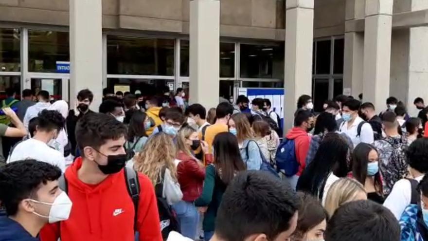 Unos 1.000 inscritos  para realizar las pruebas de la EBAU extraordinaria