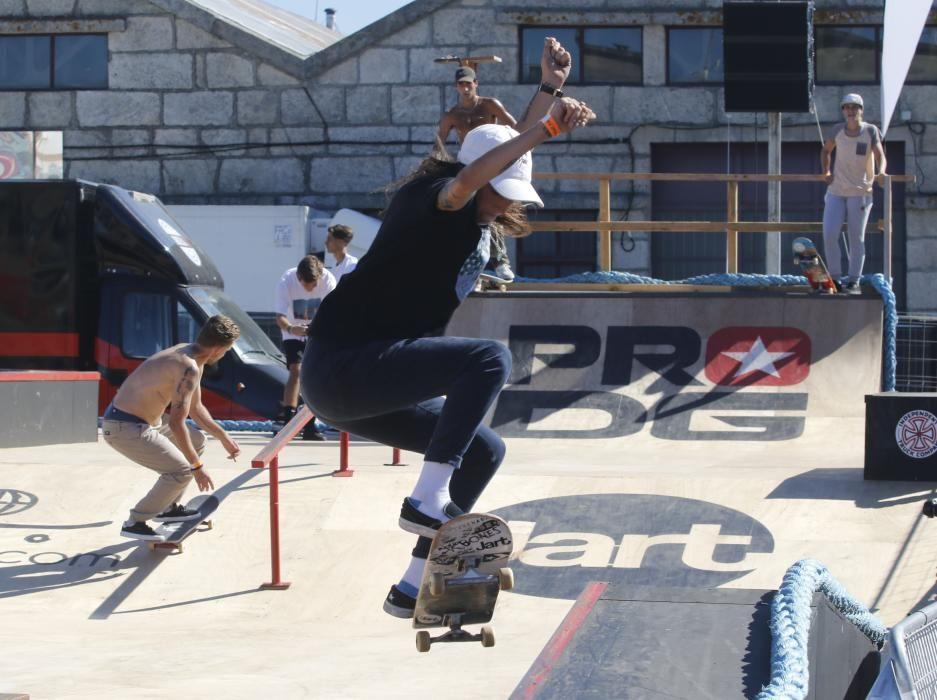 Tres días de acrobacias y piruetas imposibles, arte, deporte y cultura urbana campando por la fachada atlántica de Vigo. Un espectáculo al aire libre para el mejor festival del noroeste.