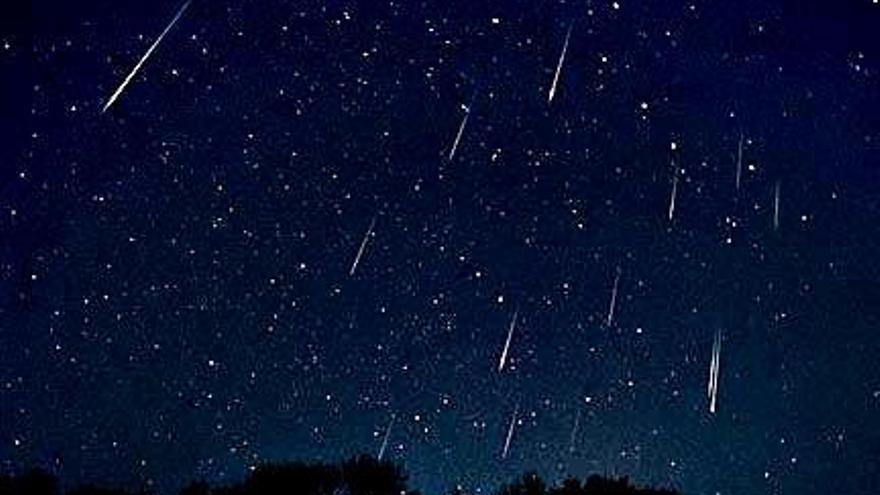 Así son las Dracónidas, la primera lluvia de estrellas del otoño