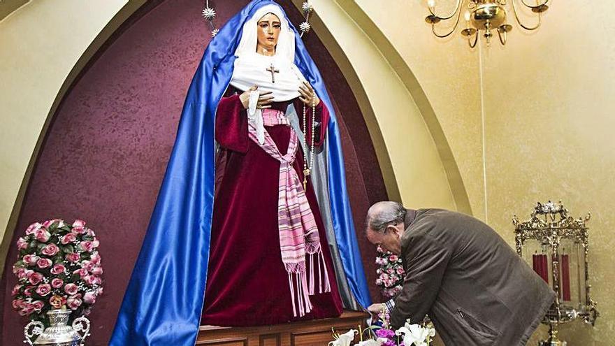 Las cofradías celebrarán actos de Semana Santa dentro de los templos