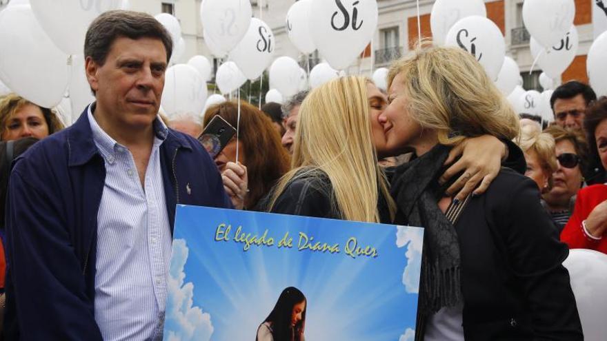 Detingut el pare de Diana Quer acusat d'agredir i intentar atropellar la seva exdona