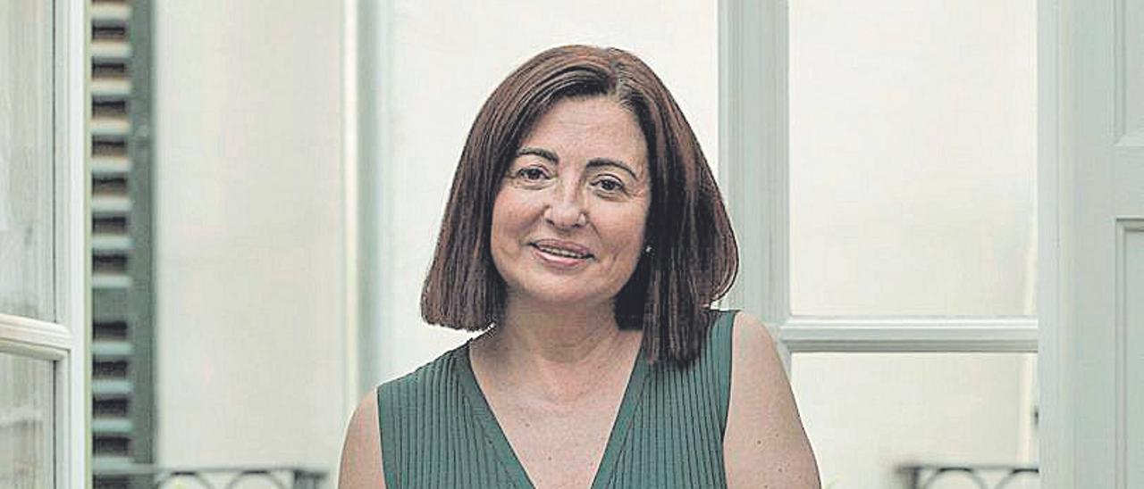 María Dolores Lozano, presidenta de la Asociación  Española de Abogados de Familia