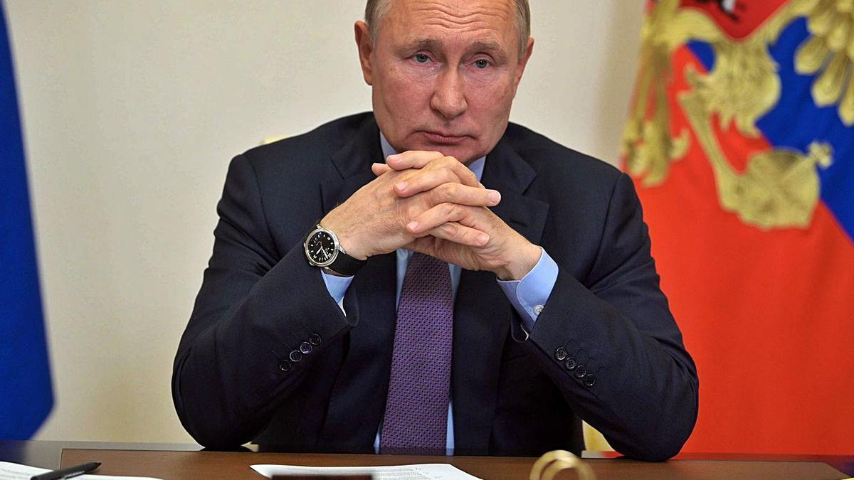 Putin va prometre pagues extres a diversos sectors de la població. | EFE