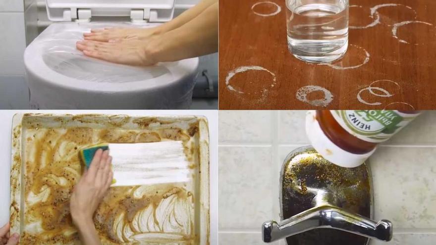 Diez soluciones imaginativas para problemas de limpieza cotidianos en tu hogar