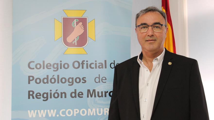 Francisco Barranco (Colegio de Podólogos): «queremos entrar en la sanidad pública y ayudar a la sociedad»