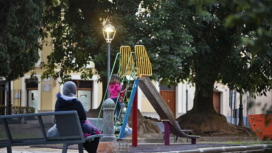 Reencuentro en los parques y jardines de Xàtiva