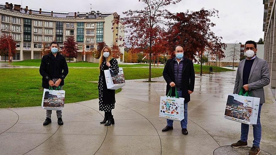Lalín repartirá 9.000 bolsas reutilizables en una campaña comercial y ambiental