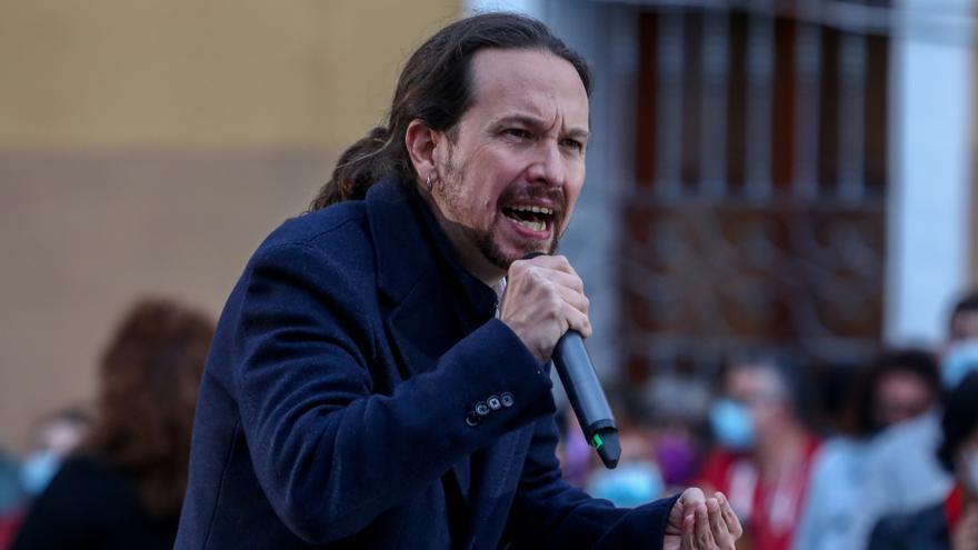 """Iglesias no espera que la Justicia ilegalice Vox y pide una movilización política ante el """"fascismo"""""""