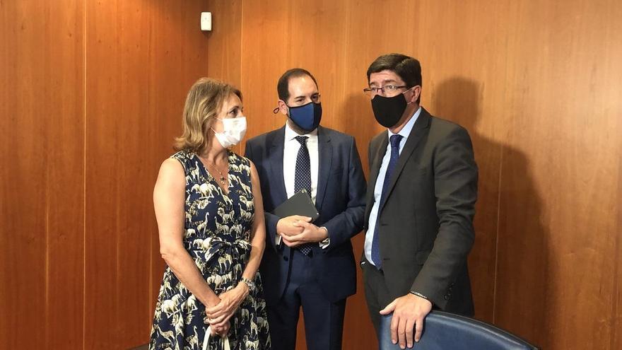 Prueba piloto del primer punto informativo para impulsar la mediación en Andalucía