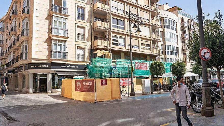 Urbanismo obliga a rehabilitar un edificio del casco antiguo de Cartagena para evitar desprendimientos