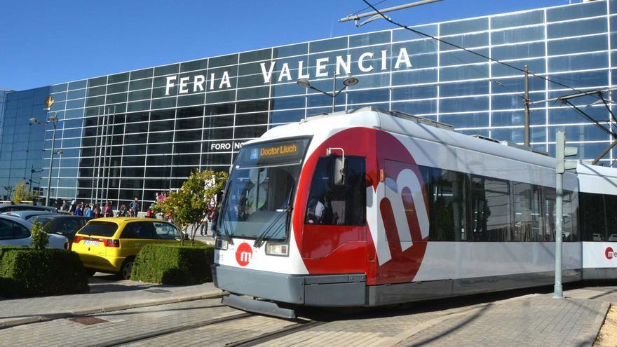 FGV habilita servicios especiales de tranvía a Feria Valencia para acudir a los exámenes de la JQCV
