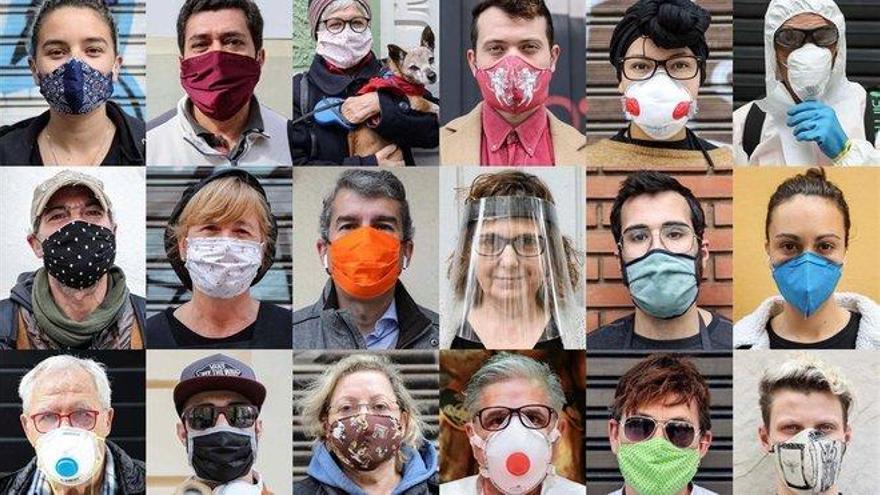 Coronavirus: Europa rectifica y recomienda ahora el uso de mascarillas en asintomáticos