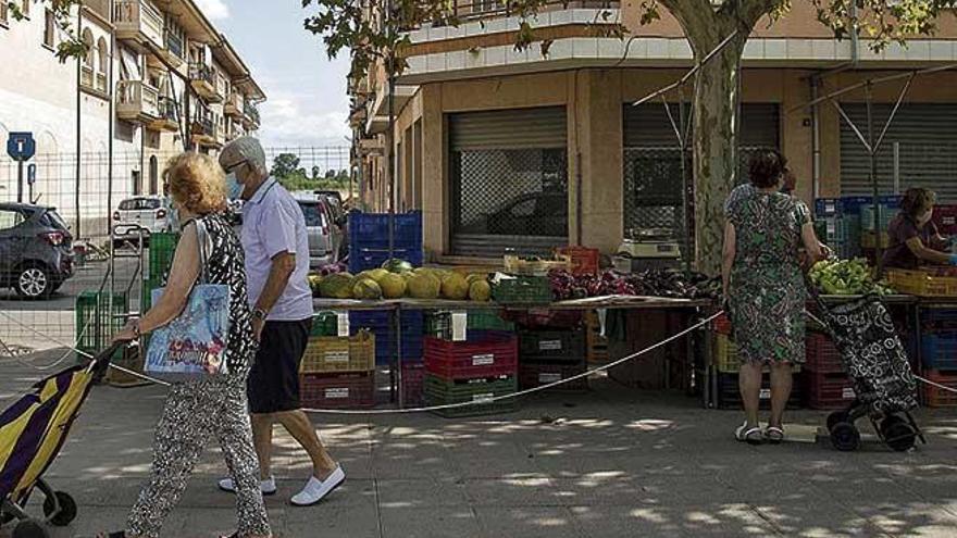 Los payeses temen que el cierre del mercado de Santa Maria cree precedentes