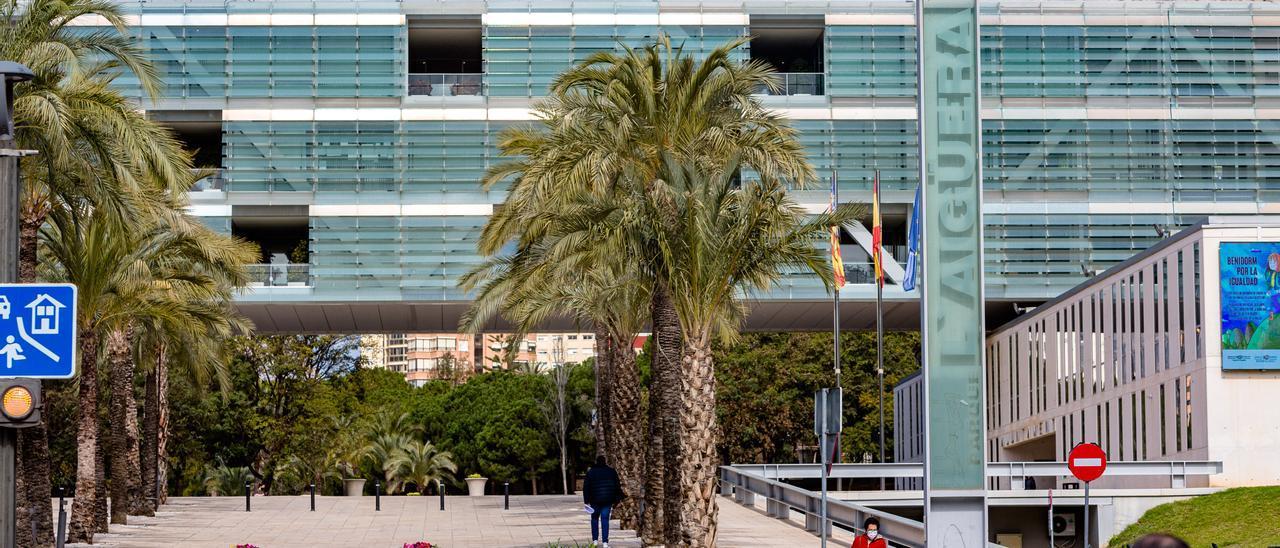 Imagen del Ayuntamiento de Benidorm.