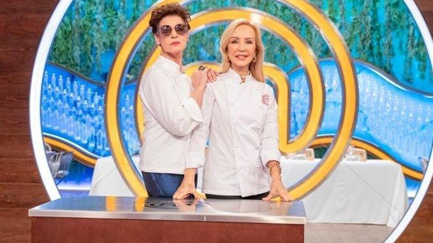 Carmen Lomana y Antonia Dell'Atte firman la paz en MasterChef