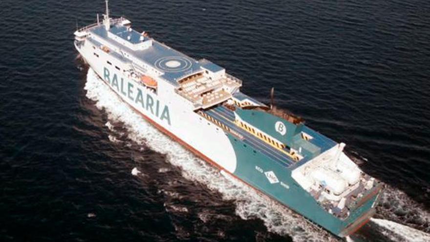 Baleària y Fred. Olsen traen el 'Marie Curie' a las Islas en el aniversario de la ruta a Huelva