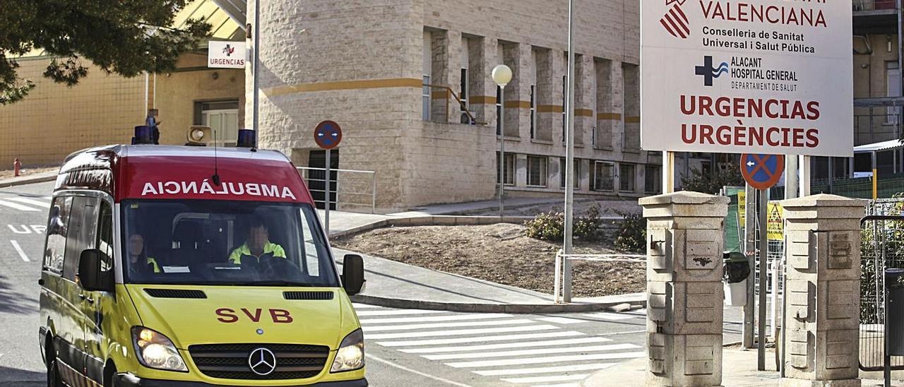 Imagen de archivo de Urgencias del Hospital General de Alicante.