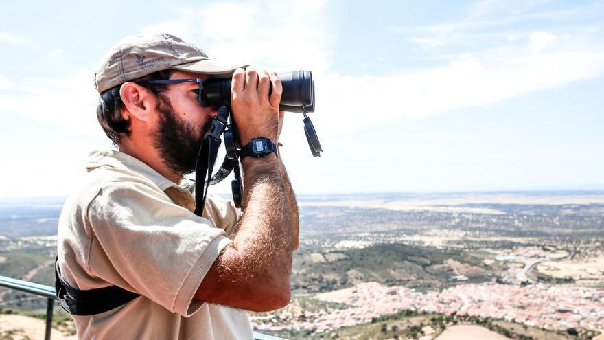 Dispositivo de vigilancia de los incendios forestales en Extremadura