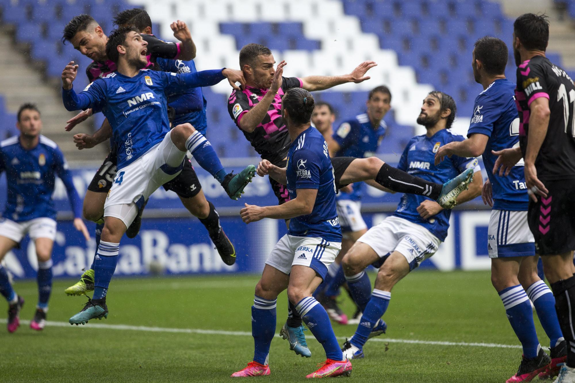 Real Oviedo - Sabadell, en imágenes