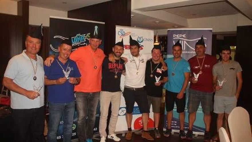 """""""Cantábrico Killers"""" gana el maratón del club Apnea"""