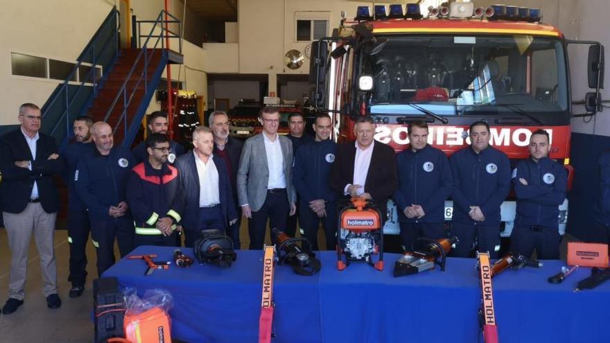 La Xunta destaca el importante papel de los GES en el sistema de atención a las emergencias