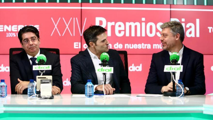 Los Dial premian en la Isla a Sergio Dalma, Mónica Naranjo y Fangoria