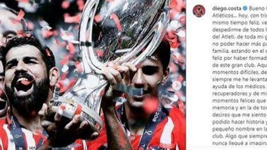 """Diego Costa: """"Llegó mi momento y mi salida era lo mejor que podía pasar"""""""