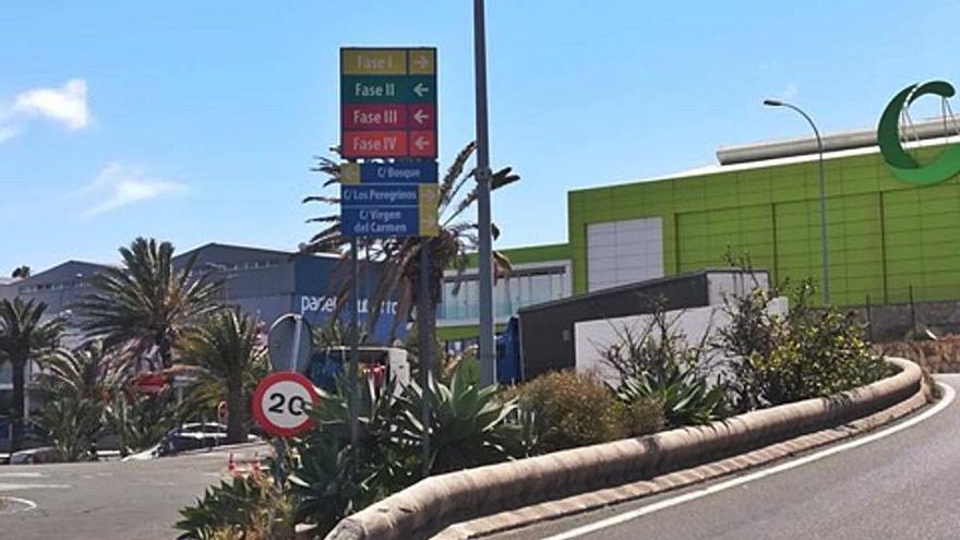 Nueva señalética para el parque de empresas de El Goro