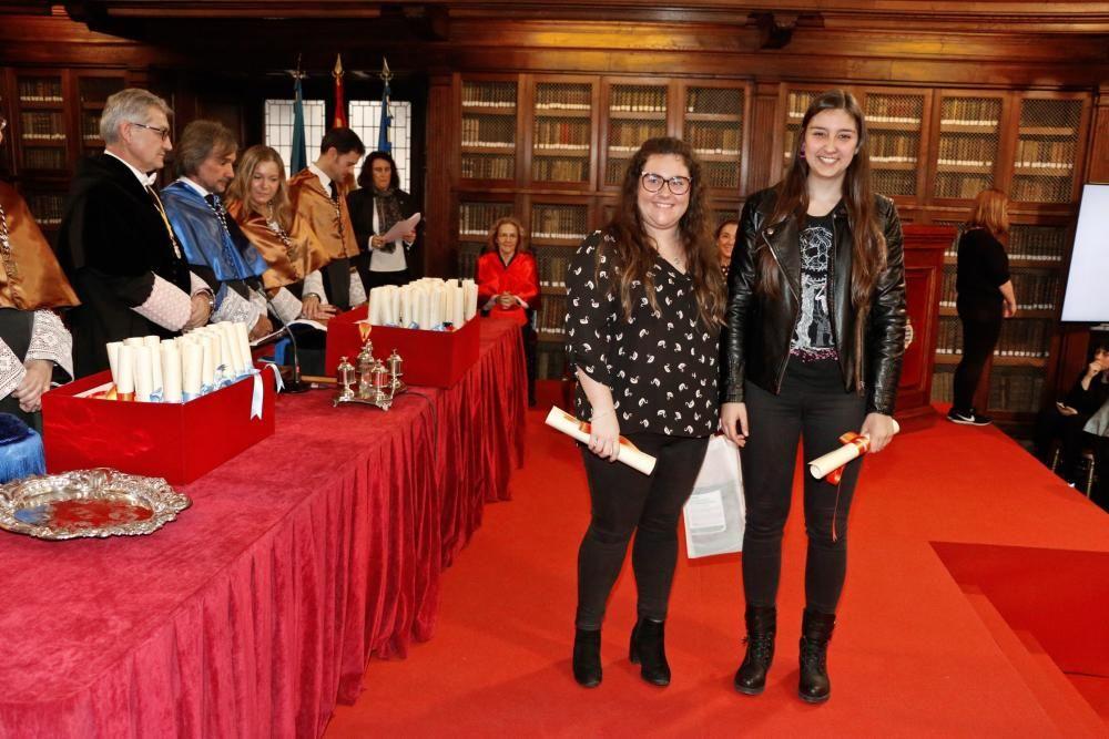 Premios fin de grado Santa Catalina